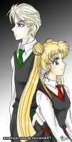 +Draco x Usagi+ by amethyst-rose