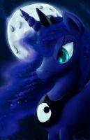 She is the Moon and Stars by Fox-Moonglow
