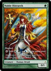 Magic: Noble Hierarch ver.2 by OokamiCloud