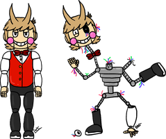 Five Nights at Eddy's: Tord 2.0 / 'The Disfigure' by Winter-Sunflower