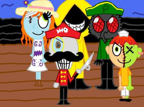 Candle Cove: the Rubberfishes by TheWingedSkeleton