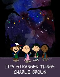 It's Stranger Things, Charlie Brown by MonkeyMan504