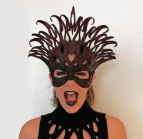 Dark Queen Mask by silvercrow
