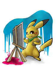 Paint.Pika by Linda-98