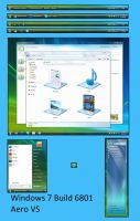 Windows 7 Build 6801 Aero by Misaki2009