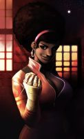 Misty Knight (version 2) by ExMile