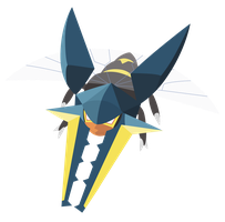 Pokemon Sun and Moon : Vikavolt - Vector Art