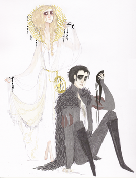 Feathers and Lace: SJ Commish by anonbea