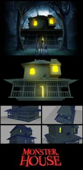 Monster House by x-Akam