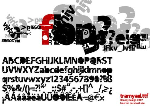 tramyad.ttf download by protofonts