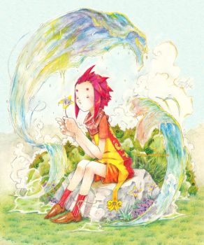 Trefle and the weird water by Lumaga