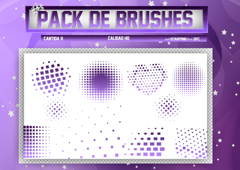 #Pack de brushes by ScarletteStarPink217