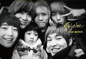 SHINee hello baby forever by man95