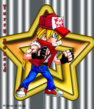 Chibi Terry Bogard by Fatal-Fury-Club