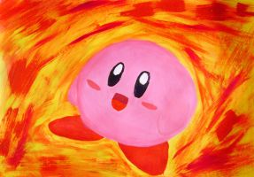 Kirby painting by luartandcomics