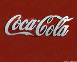 Coke wallpaper by Cavin