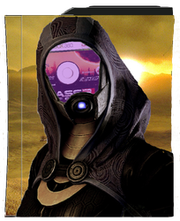 Tali or Quarian xbox design by humakabula1