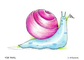 4 Snail by SheilaSunshine