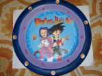 DragonBall BC Plate by HuntressGuya