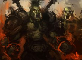 orcs by fossmno