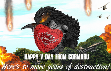 Happy V-Day To Everyone From Gormaru! by Boogie209