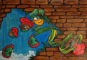 Green Can: Rayman by MaleneIversen