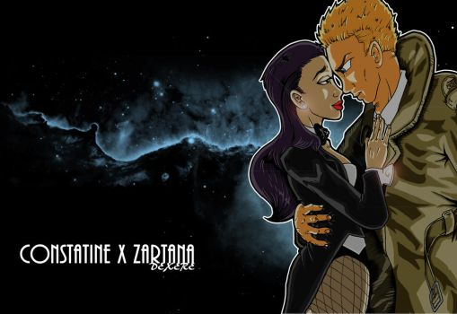 Constatine X Zartana by Dexere