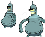 big bender sketches by Spinosaur123