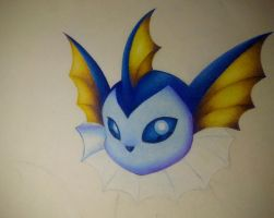 WIP-Vaporeon #2 by Blue-Scribble
