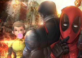 Deadpool Fan Art by alanasdasd