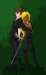 Commission - Vito and Renee by shinga