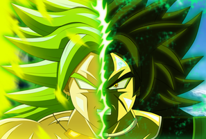 Broly by SD8bit