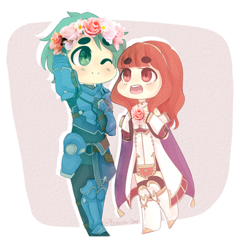 commission_Flower Children by Borealis-Star