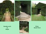 Garden Arch and Steps. Prize Stock Pack by supersnappz16