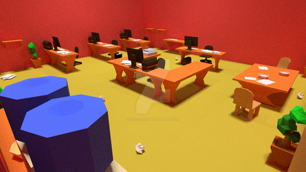 Red Office 3 by neilcorre2k6