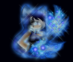 .: CE :.  Blue Flames by X-UnKnownRituals