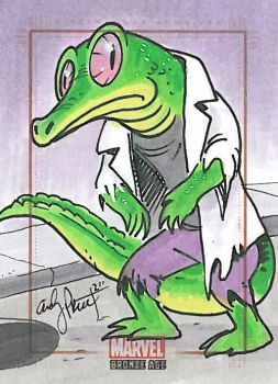 The Lizard... perhaps he's a Brony? by andypriceart