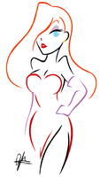 jessica rabbit by G-Blue16