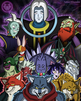 Tribute to Universe 9 by DFJonesArt