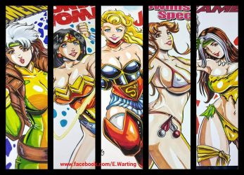 Super Girls By E Warting by W-arting
