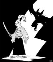 Usagi Yojimbo by JoeEngland