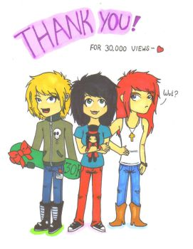 Thank you for 30K by PearGirl