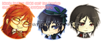 'cursor' Black Butler by annisaretry