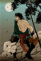 hawke and the moon by go-ma