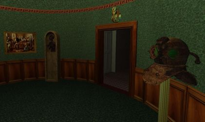 In a victorian oddities collection room by FarmandRules