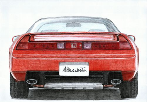 Honda NSX Type R 3/3 by PaperGarage
