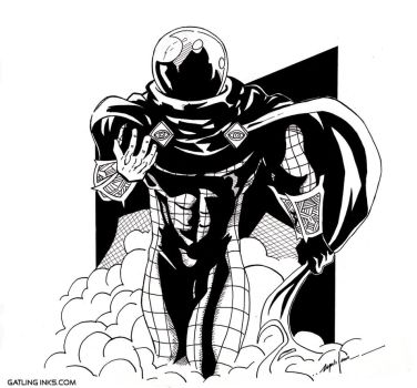 Mysterio by GatlingInks