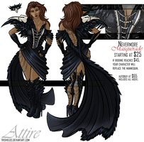 October: Nevermore Adoptable - Closed by Trishields