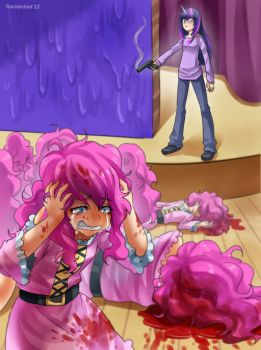 Twilight's killing Pinkies by RacoonKun