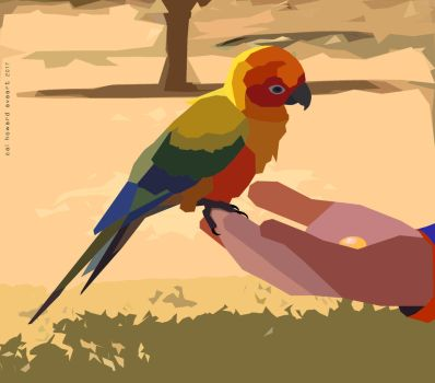 Baby Poly Parrot by AVAdesign